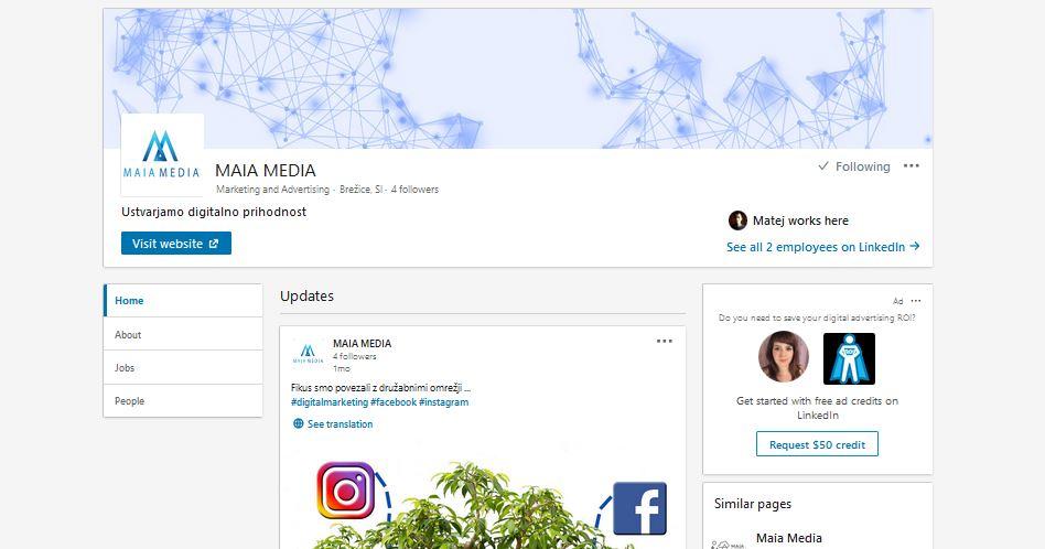 Linkedin-maia media